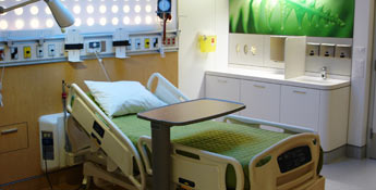 Single-patient rooms