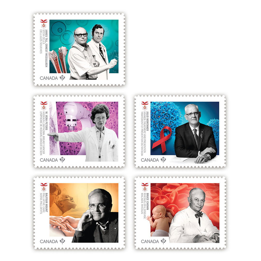 Canada Post commemorative stamp