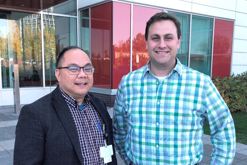 Dr. Donald Vinh and Dr. Adam Shapiro