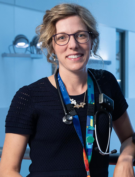 Dr. Catherine Goudie is a member of the Child Health and Human Development Program at the Research Institute of the MUHC, where she conducts research at the Centre for Outcomes Research and Evaluation