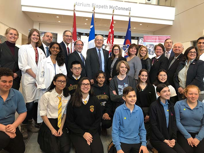 EMSB and the Research Institute of the MUHC to launch historic STEAM partnership to engage youth in science