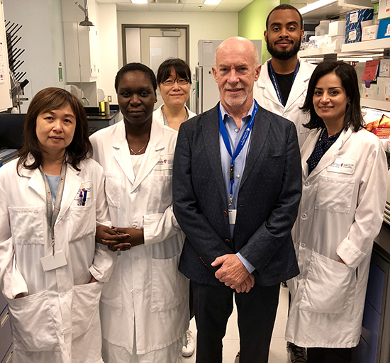 Dr. Paul Goodyer's team at the RI-MUHC is at the forefront of North American efforts to develop a novel drug for nephropathic cystinosis, a disorder that is 10 times more prevalent in Québec.