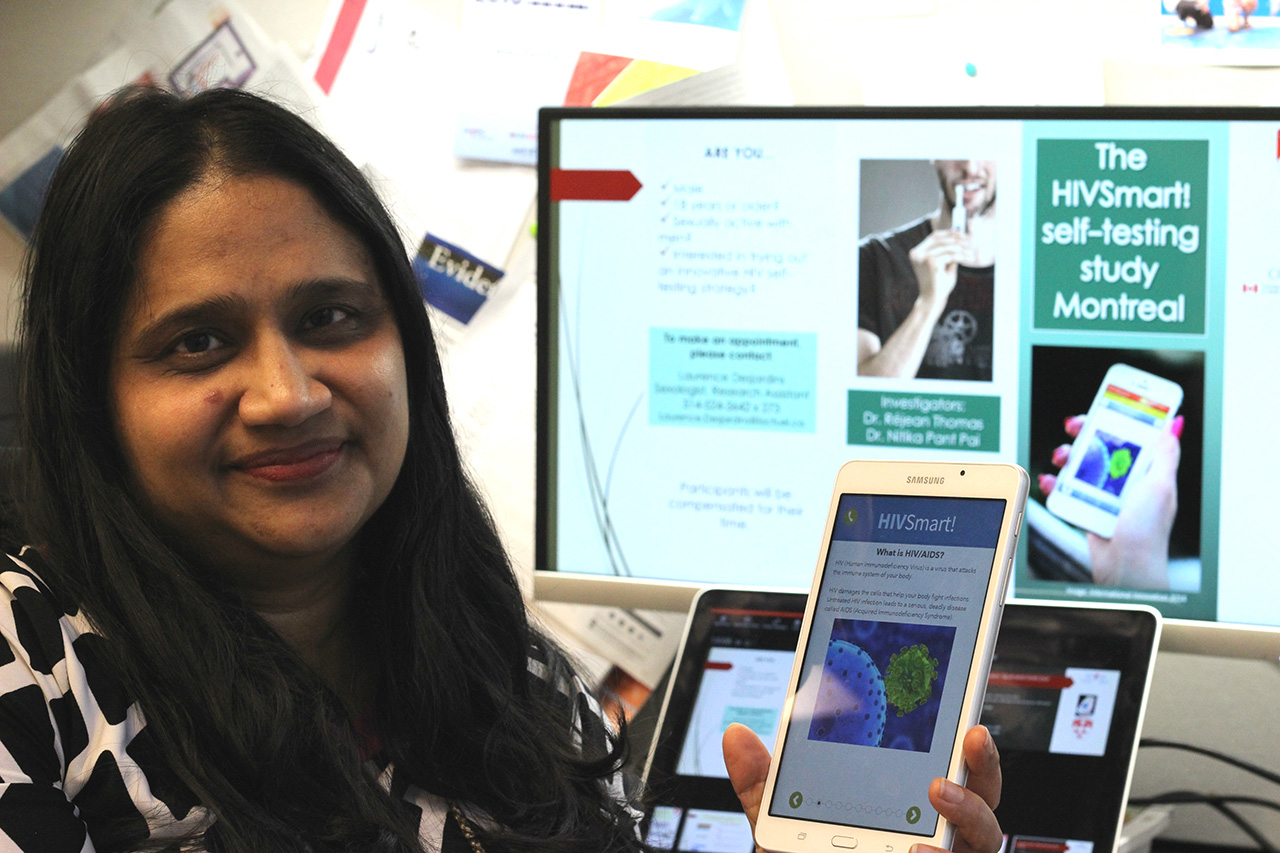 Can a smart app encourage HIV-self testing in Canada