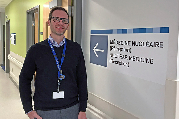 Dr. Anthony Ciarallo, Director of Nuclear Medicine at the RVH