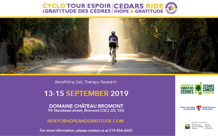 Cedars Ride for Hope & Gratitude