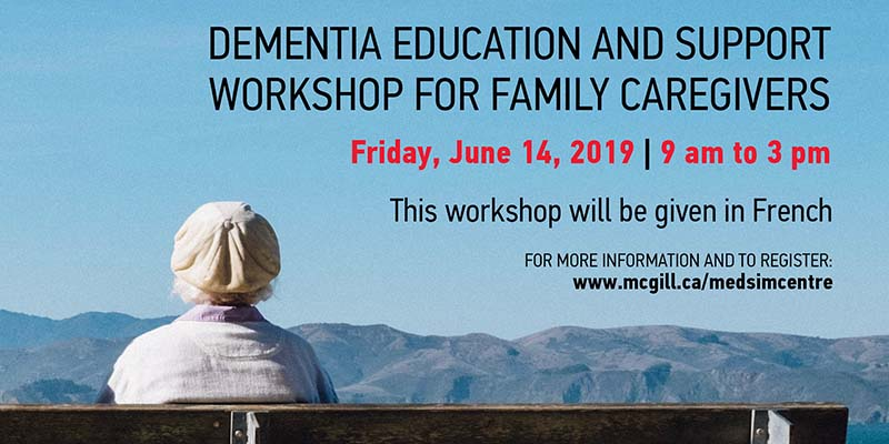 Dementia Education and Support Workshop for Family Caregivers