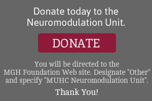 Donate to the MUHC Neuromodulation Unit